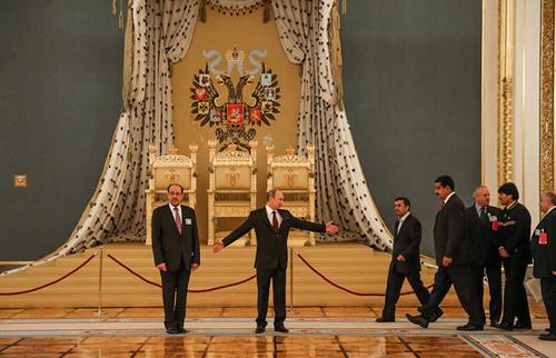 (تصاویر) احمدینژاد در کنار پوتین و مادورو
