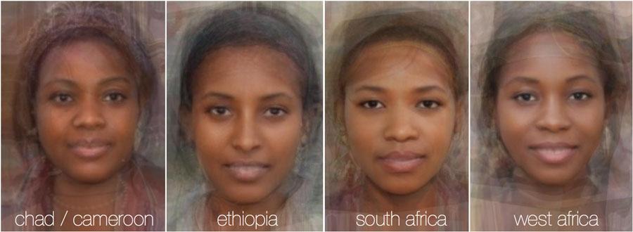 73777 433 - تصاویر: مقایسه چهره زنان در 38 کشور جهان
