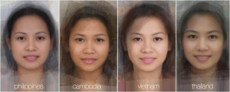 73778 362 - تصاویر: مقایسه چهره زنان در 38 کشور جهان