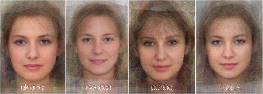 73779 718 - تصاویر: مقایسه چهره زنان در 38 کشور جهان