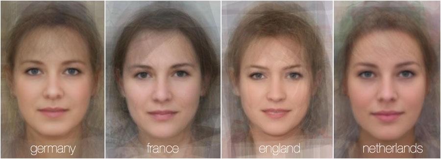 73780 750 - تصاویر: مقایسه چهره زنان در 38 کشور جهان