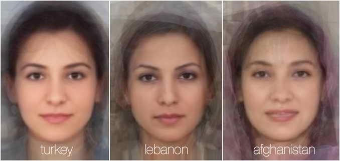 73781 761 - تصاویر: مقایسه چهره زنان در 38 کشور جهان