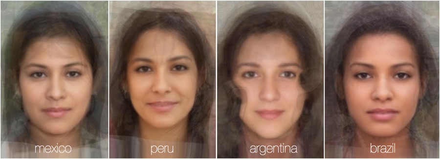 73784 959 - تصاویر: مقایسه چهره زنان در 38 کشور جهان