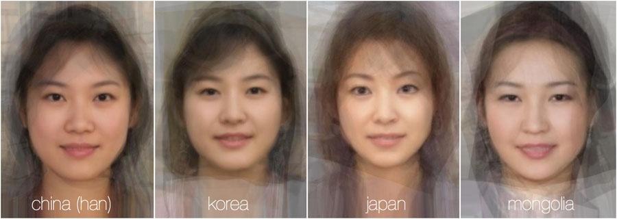 73785 746 - تصاویر: مقایسه چهره زنان در 38 کشور جهان