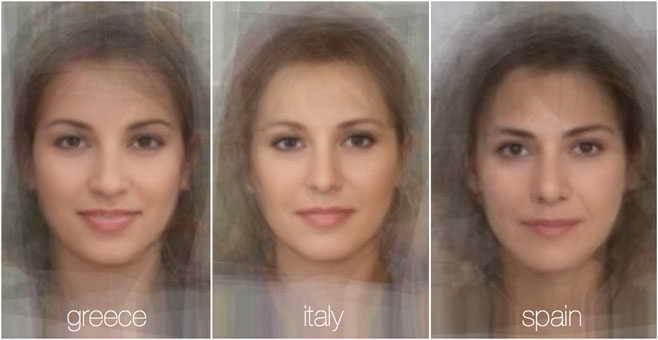 73786 256 - تصاویر: مقایسه چهره زنان در 38 کشور جهان