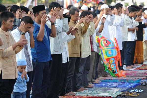 نماز عید در اندونزی