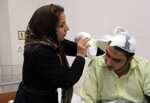 عکسهای حادثه تهران قم