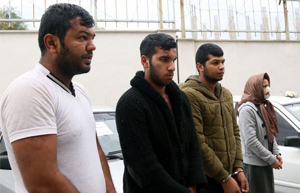 """تصاویر: دستگیری باند مخوف """"برمودا"""""""