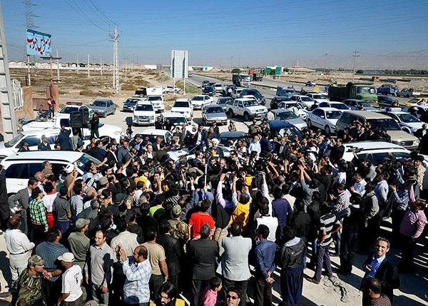 روحانی در بوشهر