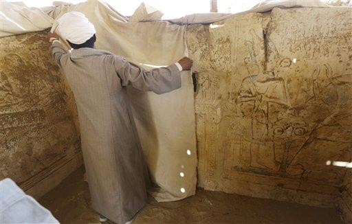 کشف مقبره 3هزارساله در مصر