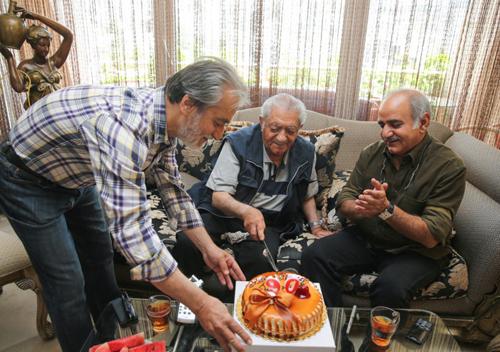 جشن ۹۰ سالگی عزتالله انتظامی + تصاویر