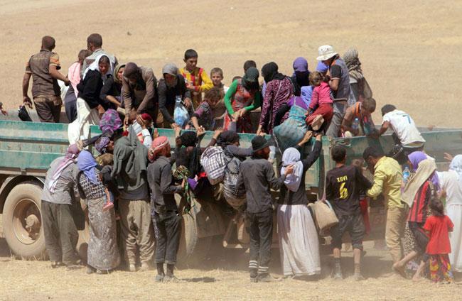 148044 150 اسارت و تجاوز به زنان ایزدی های عراق توسط داعش + تصاویر