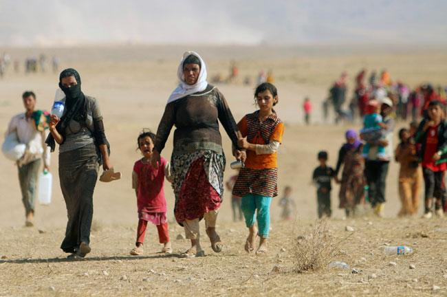 148046 787 اسارت و تجاوز به زنان ایزدی های عراق توسط داعش + تصاویر