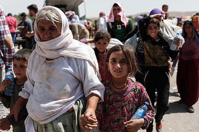 148049 942 اسارت و تجاوز به زنان ایزدی های عراق توسط داعش + تصاویر