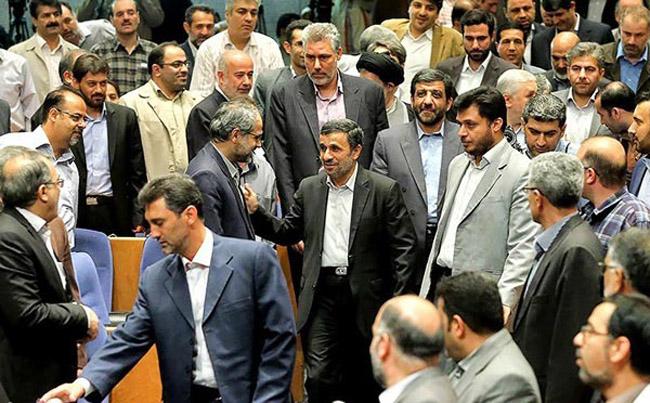 محافظ رفسنجانی محافظ احمدینژاد سپاه حفاظت انصار المهدی