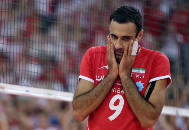 هواداران والیبال عکس والیبال تماشاگران ایرانی