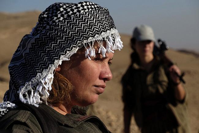 162734 670 زنان کُرد اربیل آماده نبرد با داعش (تصاویر)