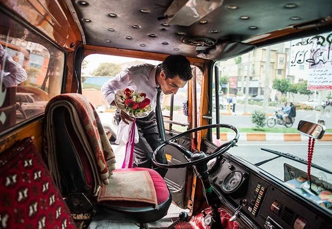 عکس عروسی عروس و داماد عروس زیبا زن و شوهر ازدواج جالب