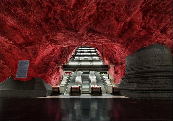 (تصاویر) معماری ایستگاههای مترو در جهان