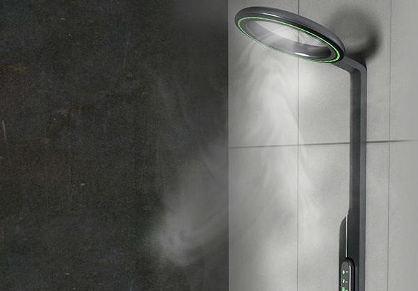 (تصاویر) دوش بخار اقتصادی و هوشمند