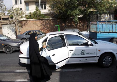 بانوی پلیس تبریزی