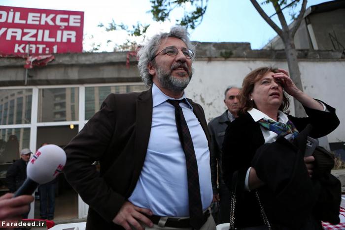 ترور نافرجام روزنامه نگار مشهور ترکیه +(تصویر)