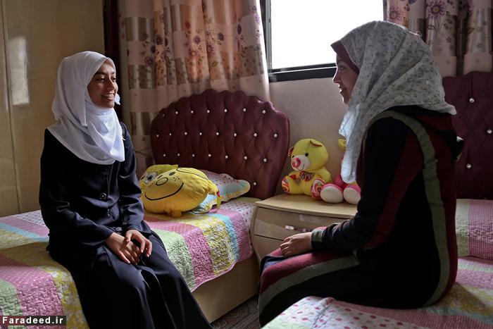(تصاویر) دختری که برای فلسطین میدود