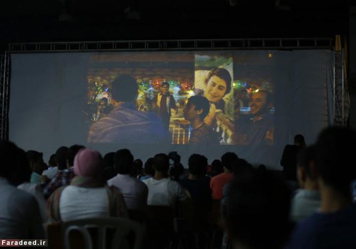 (تصاویر) فرش قرمز در غزه جنگ زده