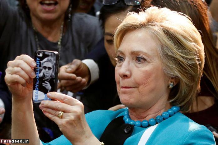 (تصاویر) سلفی بگیر، رای جمع کن!