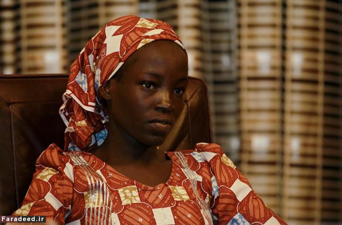 (تصاویر) دختری که از چنگ بوکوحرام فرار کرد