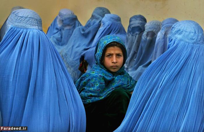 (تصاویر) زخمهایی بر تن زنان افغان