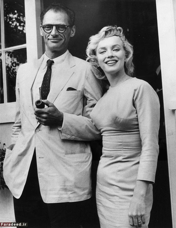 (تصاویر) ازدواج جنجالی مرلین مونرو و آرتور میلر