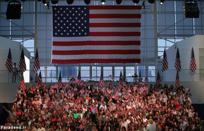 (تصاویر) اعلام پیروزی هیلاری کلینتون