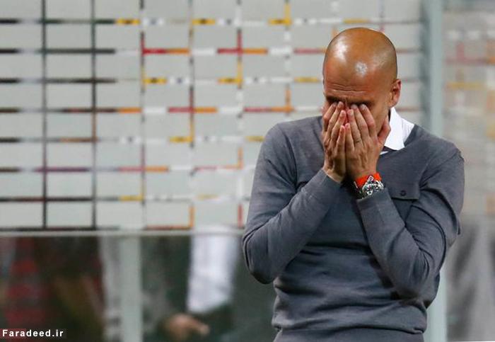(تصاویر) گریه خداحافطی گواردیولا
