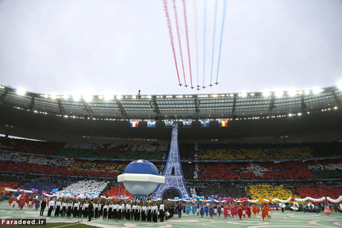 (تصاویر) افتتاحیه جام ملتهای اروپا