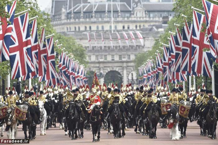 (تصاویر) جشن تولد ملکه الیزابت