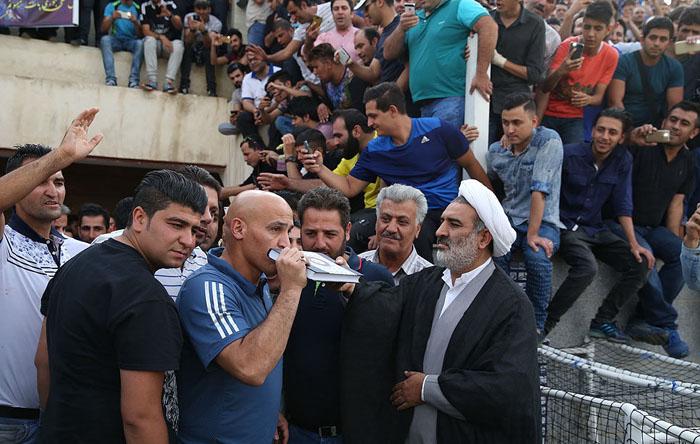 (تصاویر) استقبال استقلالیها از منصوریان