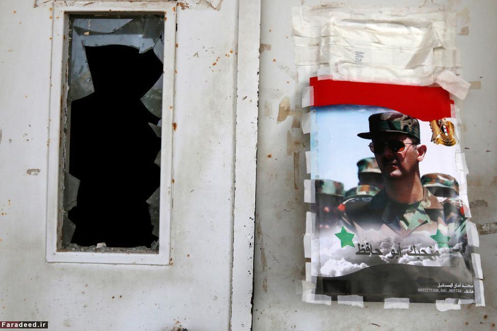 (تصاویر) حمله داعش به هفت نقطه در غرب سوریه