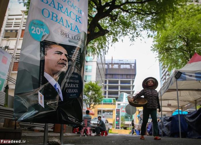 (تصاویر) حواشی سفر تاریخی اوباما به ویتنام
