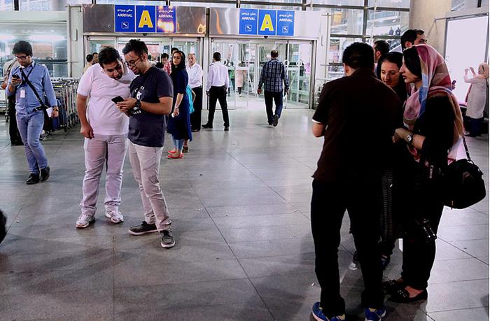 (تصاویر) استقبال از عوامل«فروشنده»در فرودگاه