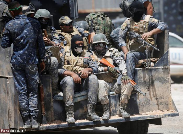 (تصاویر) پیشروی ارتش عراق در فلوجه