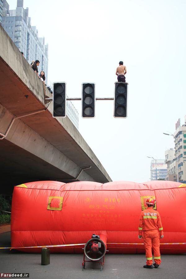 عکس خودکشی زندگی در چین حوادث واقعی اخبار چین