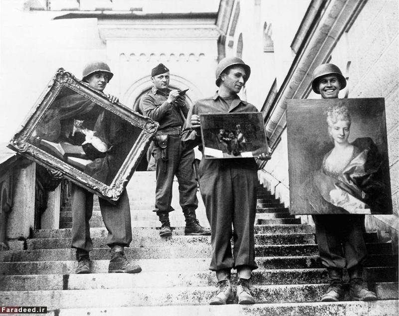 (تصاویر) بزرگترین سرقت هنری تاریخ