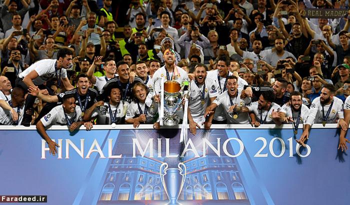 0تصاویر) جشن قهرمانی رئال مادرید