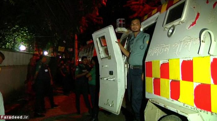 (تصاویر) گروگانگیری در بنگلادش