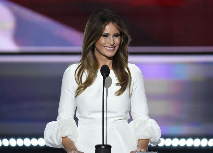 لباس همسر ترامپ نایاب شد