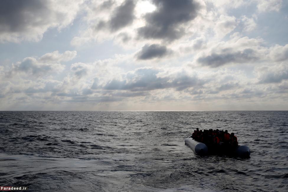 (تصاویر) بزرگترین عملیات نجات در مدیترانه
