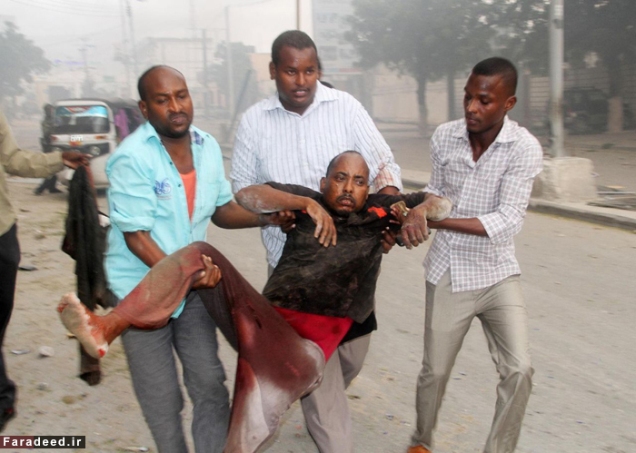 (تصاویر) حمله تروریستی