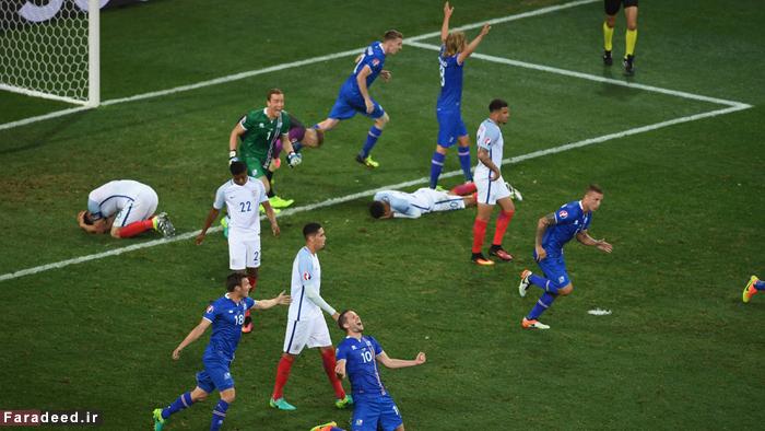 (تصاویر) وداع تلخ انگلیس با جام ملتها