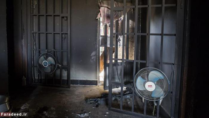 (تصاویر) زندانهای مخوف داعش در فلوجه